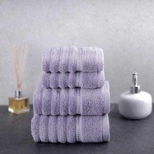 Charisma Bumpy Rib 4-piece Towel Set
